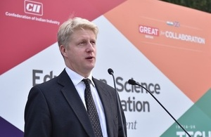 Johnson Minister of State for Universities Science, Research and Innovation