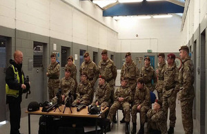 Chindit army cadets enjoy CNC visit