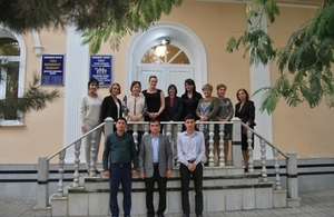 FCO Official visits project sites in Uzbekistan