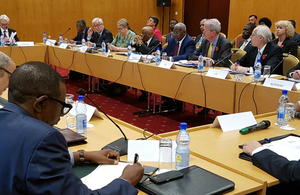 UK and Uganda co-host high-level meeting on South Sudan