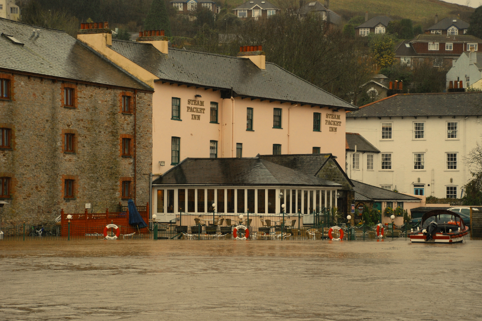 The Steam Packet, Totnes, winter 2008