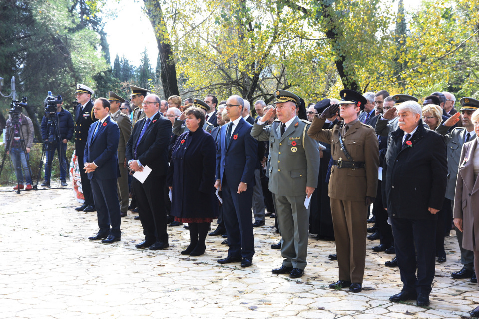 British Embassy Tirana observes Remembrance Day 2016