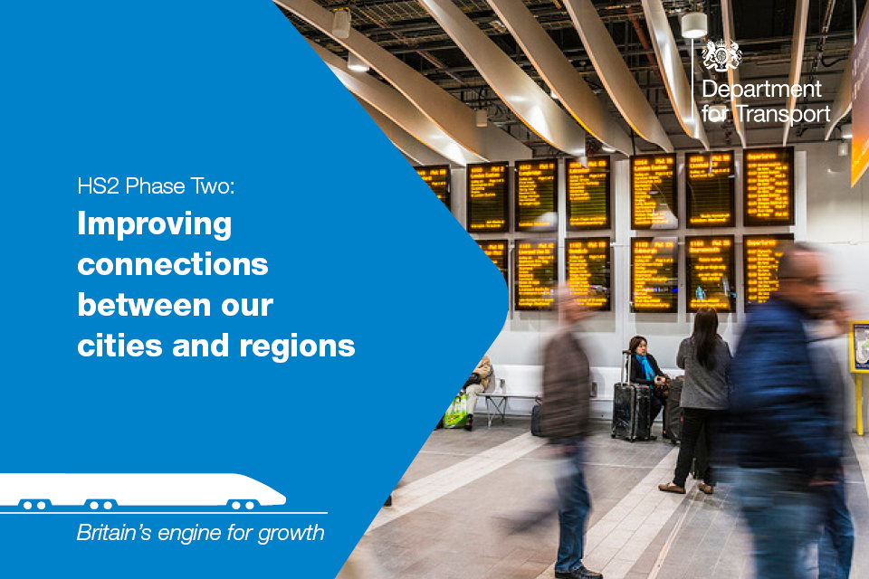 HS2 improving connections between our cities and regions.