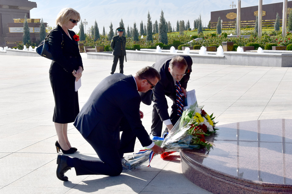 Remembrance Day commemorated in Ashgabat