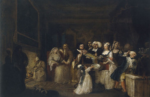 Hogarth - The Christening