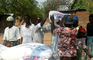 UK aid is supporting hundreds of thousands of people during a prolonged food crisis. Picture: UK in Malawi