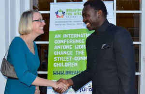 HE Sarah Cooke and Hon. Deputy Minsiter Dr. Hamisi Kigwangalla