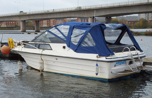 Library image of cabin cruiser Vasquez (photo: MAIB)
