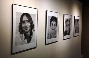 "The exhibition ""Mindya - Portrait of a Village""."