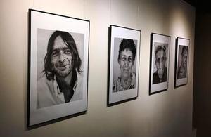 "The exhibition ""Mindya - Portrait of a Village""."