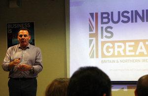 Presentation about the Global Entrepreneur Programme.