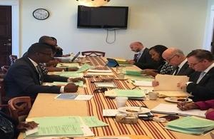 TCI Cabinet Meeting