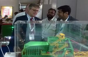 British Deputy High Commissioner Kolkata Bruce Bucknell at IMME 2016