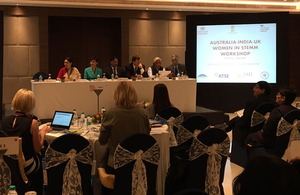 Women in STEMM trilateral workshop in New Delhi