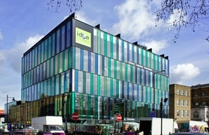 Outside view of the Whitechapel Idea Store