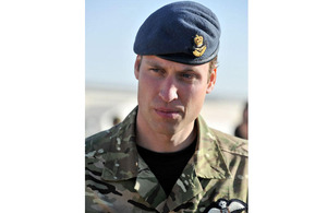 His Royal Highness Prince William, pictured on a recent visit to Afghanistan, has been made Colonel of the Irish Guards [Picture: Corporal Steve Blake RLC, Crown Copyright/MOD 2011]