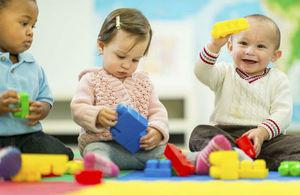 children at a nursery