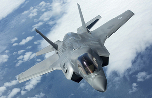 The F-35B Lightning II will place the UK at the forefront of fighter technology. © Crown copyright