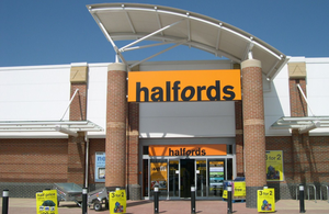 A branch of Halfords