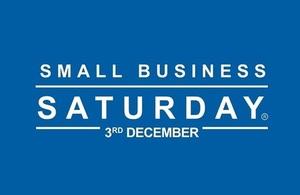 Small Business Saturday / Sadwrn Busnesau Bach