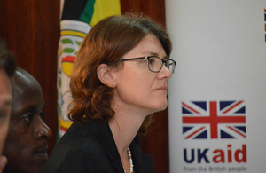 Head of DFID Uganda, Jennie Barugh