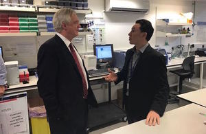 David Davis at Cancer Research UK in Cambridge