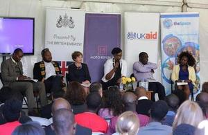 An anti-corruption dialogue supported by the British Embassy in early 2016