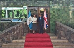 Baroness Anelay in Guatemala