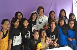 Baroness Anelay visiting project in Guatemala