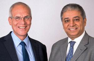 Dr Takis Katsoulakos and Yash Chadha