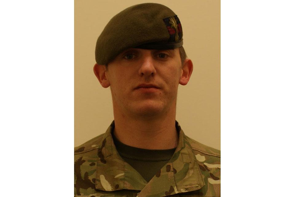 Lance Corporal Lee Thomas Davies (All rights reserved.)