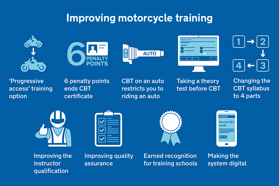 9 proposals on improving motorcycle training