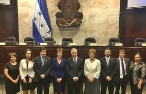 Baroness Anelay at Honduran Congress