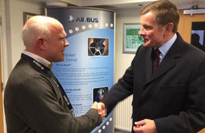 Minister David Jones meets Airbus in Bristol