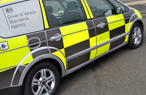 DVSA traffic vehicle