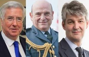 Defence Secretary, Chief of Defence Staff and Permanent Secretary