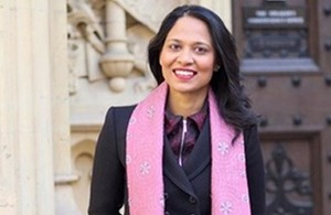Rushanara Ali MP, the UK Prime Minister's Trade Envoy to Bangladesh