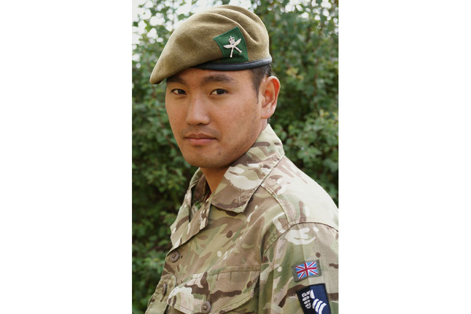 Lance Corporal Gajbahadur Gurung (All rights reserved.)