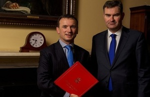 Alun Cairns and David Gauke
