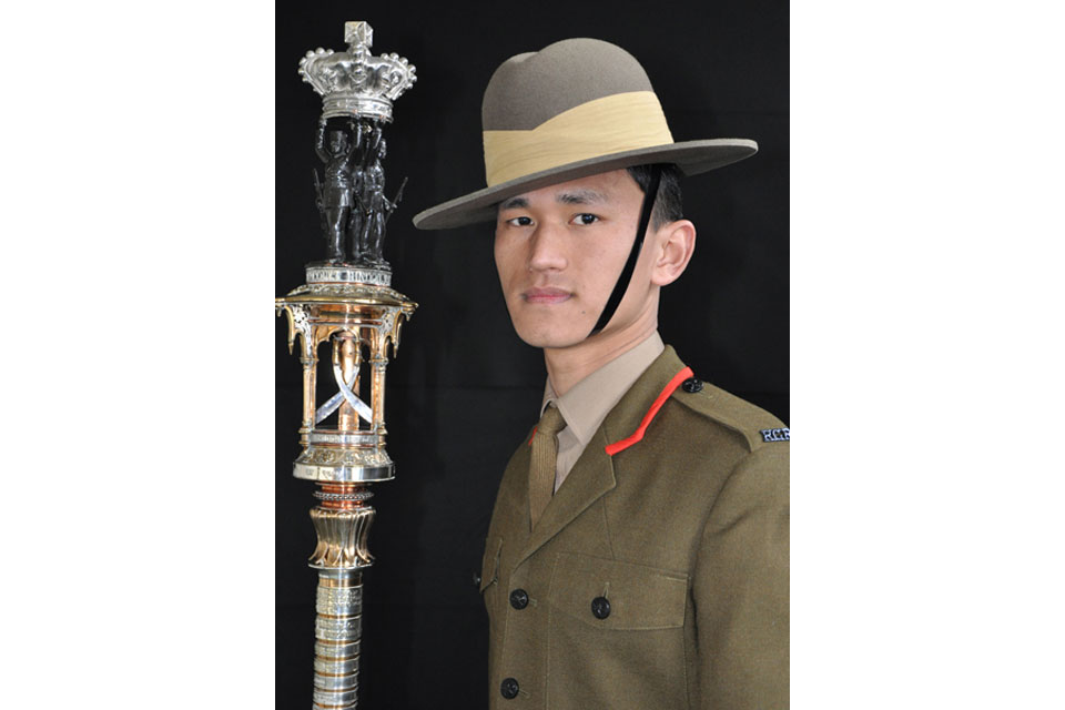 Rifleman Sachin Limbu (All rights reserved.)