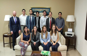 Members of Chevening Alumni Association - Paraguay