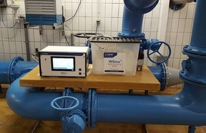 A Wilma module analysing alpha radiation in situ