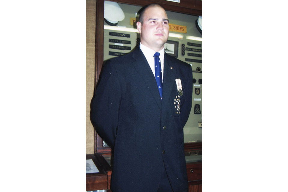Lance Corporal Paul Watkins (All rights reserved.)