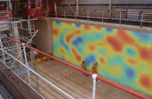 Simulation of the radioactivity penetration