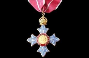 CBE award