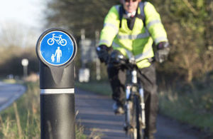 A585 cycle improvements