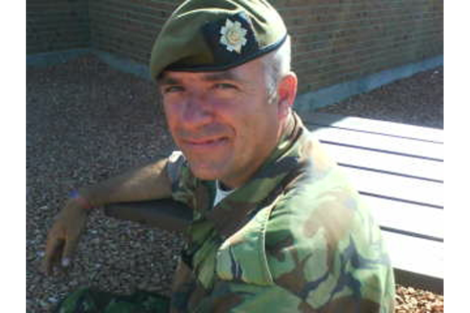 Colour Sergeant Alan Cameron (All rights reserved.)