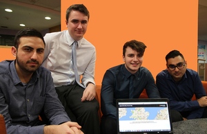 The events map has been developed by a team of SFA software development apprentices and IT graduates.