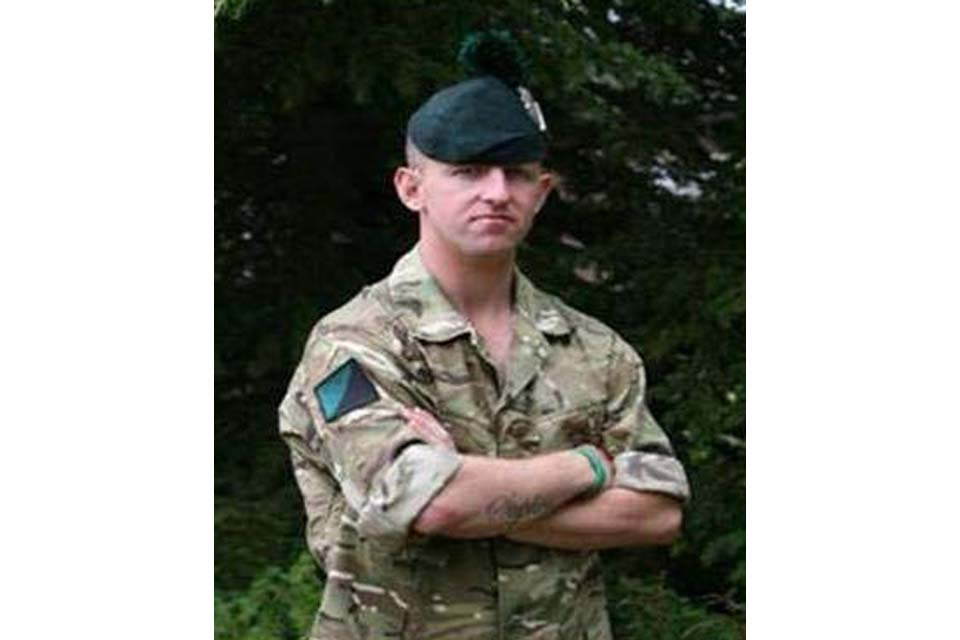 Lance Corporal Stephen McKee (All rights reserved.)