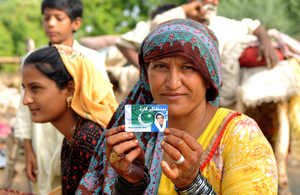 """The BISP card prevents us from going days without food"" - Noor Bhari, a beneficiary of Pakistan's Benazir Income Support Programme (BISP). Picture: World Bank"